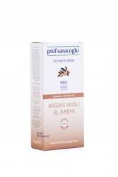 profsaracoglu - Organik Argan Yağlı El Kremi