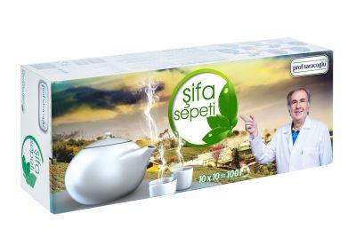 profsaracoglu - Bitki Çay Sepeti (Süzen Poşet)