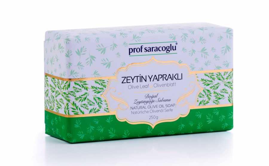 Zeytin Yapraklı Katı Sabun
