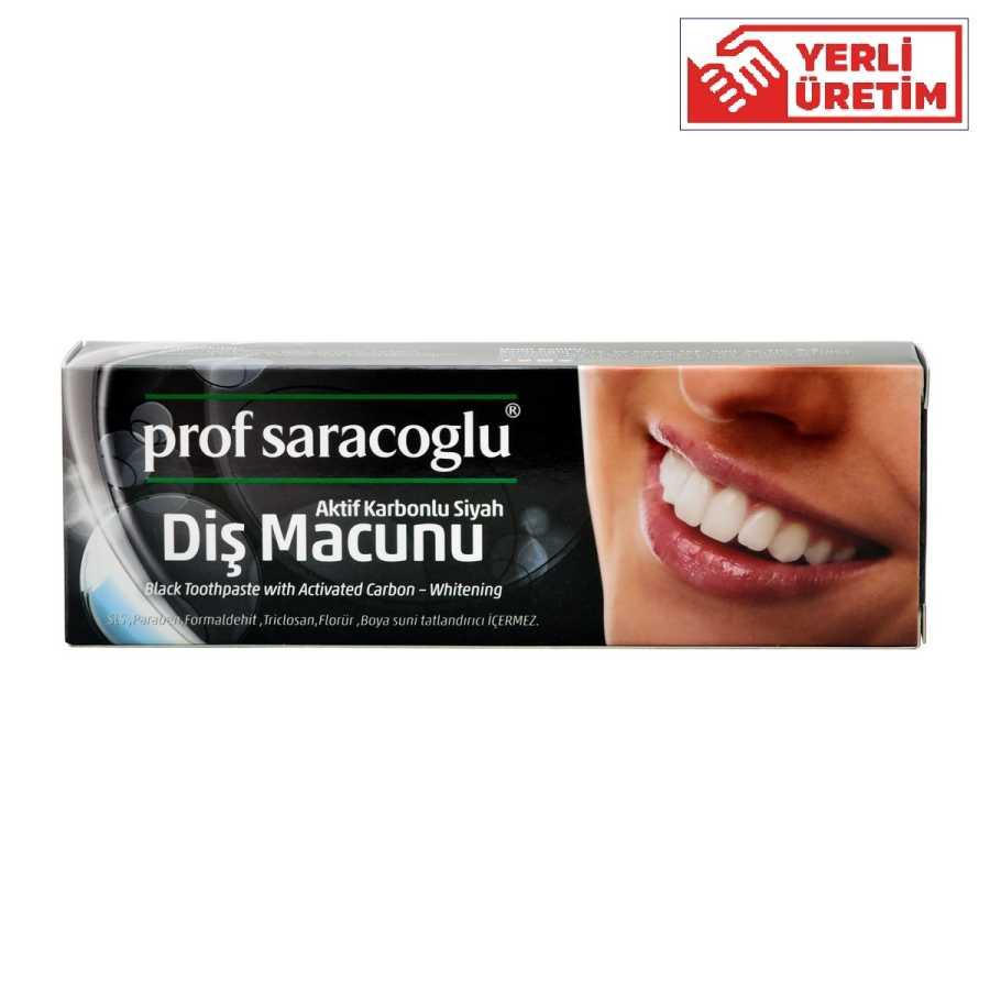 profsaracoglu - Aktif Karbonlu Diş Macunu