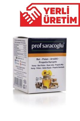 profsaracoglu - Bal - Polen - Arısütü - Propolis Karışımı