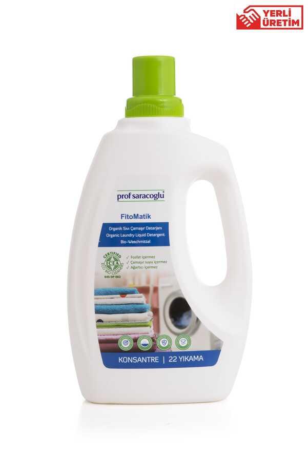 FitoMatik Organik Çamaşır Deterjanı jel