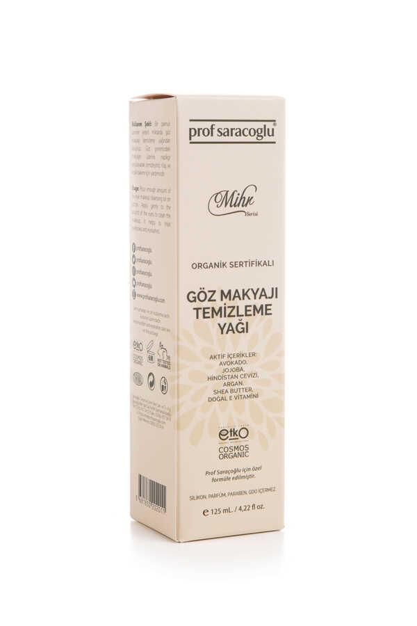 profsaracoglu - Mihr Organik Göz Makyajı Temizleme Yağı 125mL